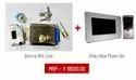Electric Rim Lock with Video Door Phone