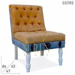Suren Space Modern Vintage Slipper Sofa