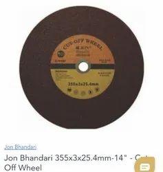 Brown Rail cutting disc, Round, Bore Diameter: 25.4
