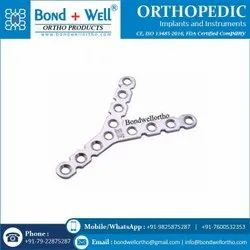 Orthopedic Implants Y Reconstruction Plate