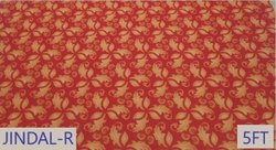 NON WOVEN PRINTED CARPET DESIGN NO - JINDAL RED