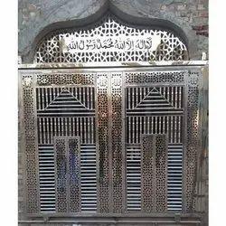 Masjid Stainless Steel Sliding Door, Exterior