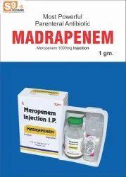 Madrapenem Injection Meropenem 1gm