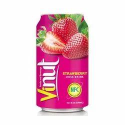 Vinut Strawberry Fruit Juice With Pulp 330 ML