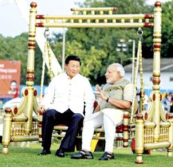 Pm Modi Sankheda Wooden Swing