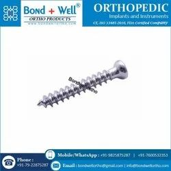 6.5 mm Orthopedic Cancellous Screw Fully Thread