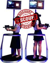 VR Counter Strike Arcade Game Machine
