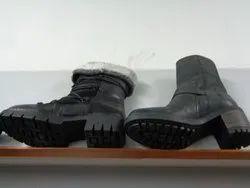 Wooden Ladies Shoes