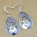 925 Sterling Silver Jewelry Carnelian Wholesale Earring WE-6211