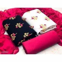 Cotton Ladies Unstitched Suit Material