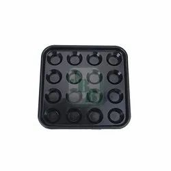 16 Balls Black JBB Plastic Pool Ball Tray