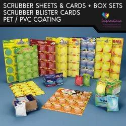 Scrubber Blister Packaging