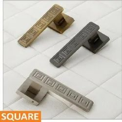 Square Brass Mortise Handle