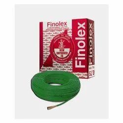 0.75 Sq Mm Finolex Flame Retardant PVC Insulated Green Cable