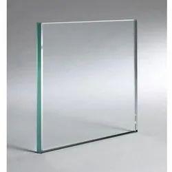 Transparent Plain Glass, Shape: Falt & Curve