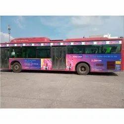 Mild Steel Delhi DTC Bus Branding Service, in Pan India, Mode Of Advertisement: Offline