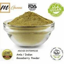 Green Emblica Officinalis Amla Powder, Archie Enterprise, 25 Kg