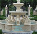 2 Tier Stone Water Fountain
