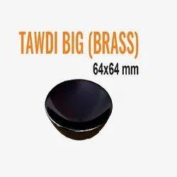 Tawdi Big Brass Drawer Knob