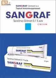 Sangraf Ointment Tacrolimus 0.1%w/w