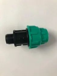 MDPE Male Thread Adapter, Size: 20