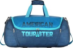 Polyester Grid American Tourister Gym Duffle Bag
