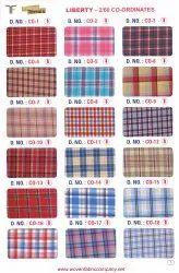C0-10 School Uniform Tusser Suiting Fabric