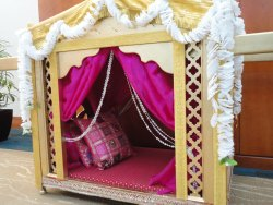 Wooden Wedding Palki