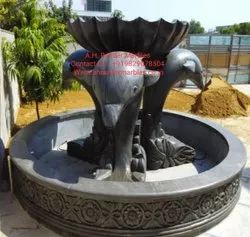 Black Stone Water Fountain