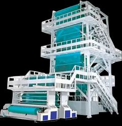 Two Layer Extrusion Line Blown Machine