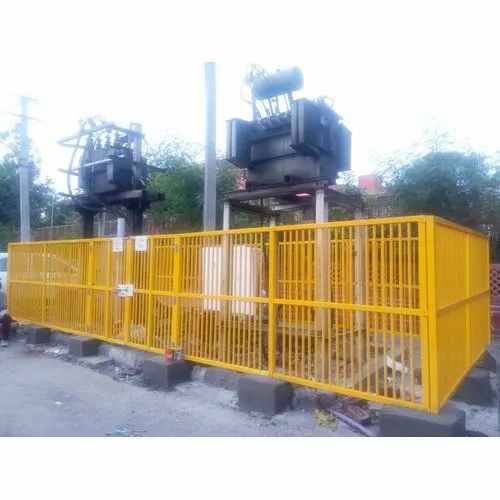 Color Coated FRP Fencing, Size: 6 Feet(height)