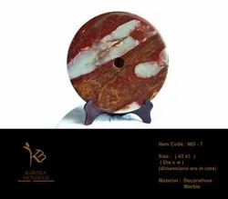 Marble Feng Shui Disc Decorative