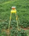 Godwill Plastic Solar LED Insect Light Trap (With Stand) for Agriculture,