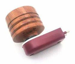 wooden kapoor dhani- Multipurpose Direct Plug in Mini Wooden Electric Incense Burner Bakhoor Dani
