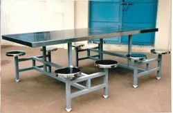 Stainless Steel Eight Seater Dining Tables