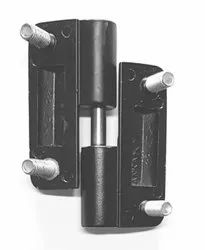 Verix Brass Black Coated Door Hinges