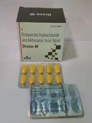 Drone-M Tablet ( Drotaverin 80 mg Metenamic Acid I.P 250 mg )