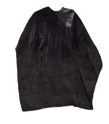 Polyester Black Non Woven Disposable Apron, For Safety & Protection, Size: Large