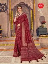 Saheli Vichitra Silk Saree