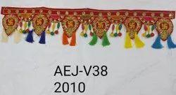 Fancy Velvet Toran Bandarwal