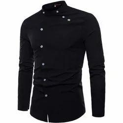 Qlonz Party Wear Mens Designer Full Sleeves Cotton Shirt