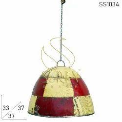 Iron Industrial Theme Bars Ceiling Pendant Light