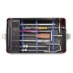 Orthopedic Surgical Aluminum Instruments Implant Box