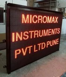 Micromax Water And Air Pollution Parameter Display