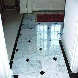 Glossy Tile Flooring Service