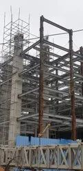 Steel Frame Structures Prefab commercial construction service, in Hyderabad