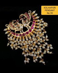 95 Kolhapuri Fashion Pendant