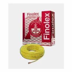 4 Sq Mm Finolex Flame Retardant PVC Insulated Yellow Cable