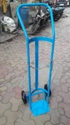 Medical Oxygen Cylinder Trolley, Single & Double Cylinder Trolley, Oxygen /LPG/Co2 Etc
