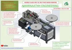 Tie On Face  Mask Making Machine By M/s Amrnaathh India